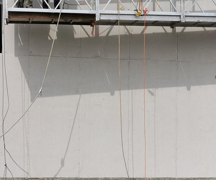 水厂安装防爆墙
